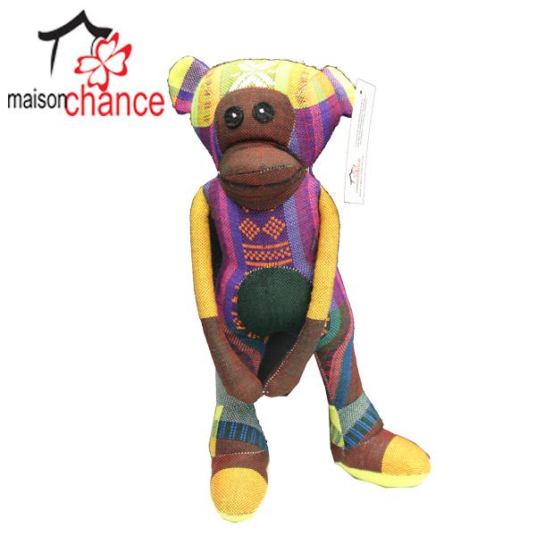 Thú nhồi bông hình con Khỉ vải thổ cẩm