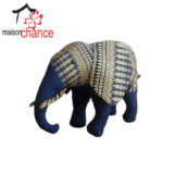 Thai fabric stuffed Elephant