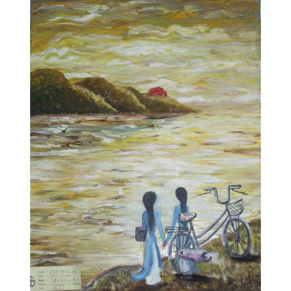 tranh sơn dầu