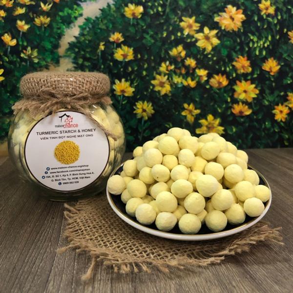 Viên tinh bột nghệ mật ong hoa cà phê
