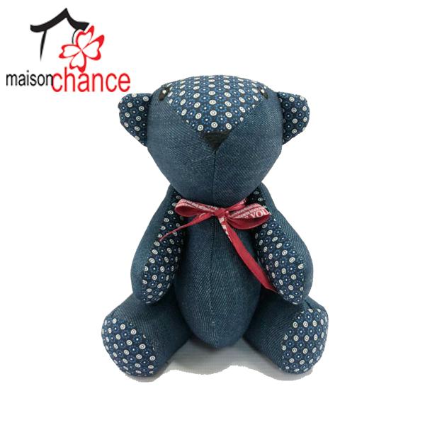 Thú nhồi bông hình con Gấu Jena vải thổ cẩm